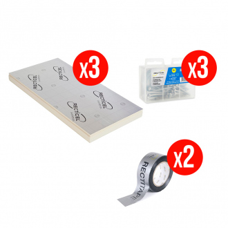 Kit complet isolation RECTICEL FITFORALL® 40 mm - R.1,80 m² k/W - 12,96 m²