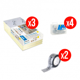 Kit complet isolation RECTICEL FITFORALL® 30 mm - R.1,35 m² k/W - 12,96 m²