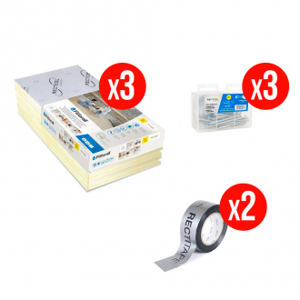 Kit complet isolation RECTICEL FITFORALL® 60 mm - R.1,35 m² k/W - 10,8 m²