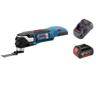 Multitool BRUSHLESS 18V + 1 lame - 1 bat Li-Ion 5Ah + chargeur