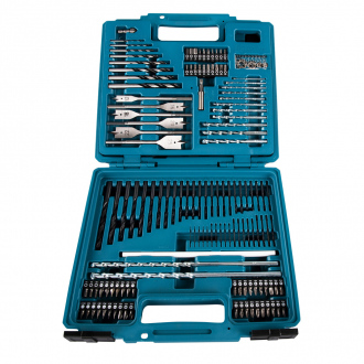 Coffret MAKITA PRO 212 pièces : embouts, forets & mèches