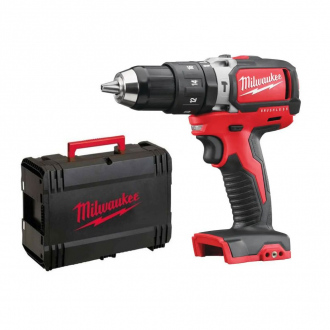 Perceuse à percussion MILWAUKEE BRUSHLESS 18V - machine nue + HD Box
