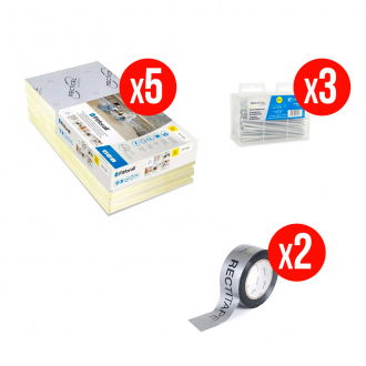 Kit complet isolation RECTICEL FITFORALL® 100 mm - R.4,50 m² k/W - 10,8 m²