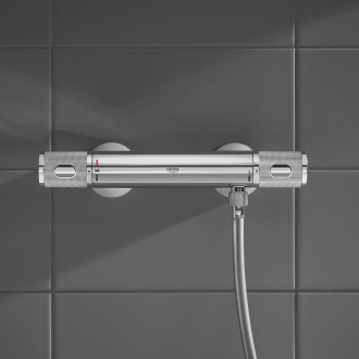 Mitigeur de douche thermostatique PRECISION FEEL GROHE - chrome
