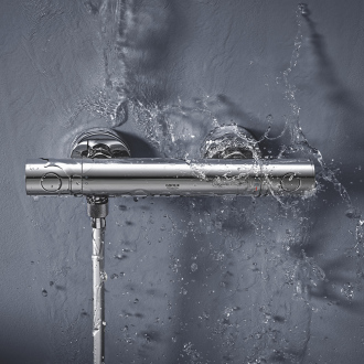 Mitigeur de douche thermostatique GET GROHE - chrome