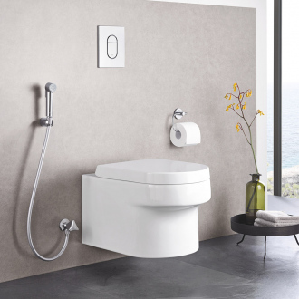 Set TEMPESTA F TRIGGER SPRAY 30 GROHE - douchette avec gachette 1 jet - flexible 125 cm - chrome