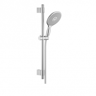Ensemble POWER & SOUL GROHE - douchette 4 jets + barre 60 cm + flexible 175 cm - chrome