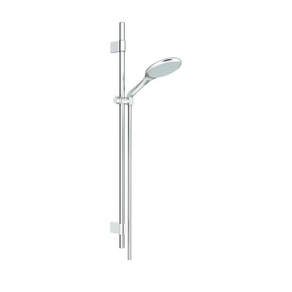 Ensemble RAINSHOWER SOLO GROHE - douchette 2 jets + barre 90 cm + flexible 175 cm - chrome