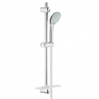 Ensemble EUPHORIA 110 GROHE - douchette 2 jets + barre 60 cm + flexible 150 cm - chrome