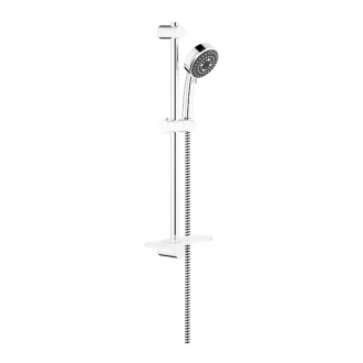 Ensemble VITALIO COMFORT GROHE - douchette 3 jets + barre 60 cm + flexible 175 cm - chrome