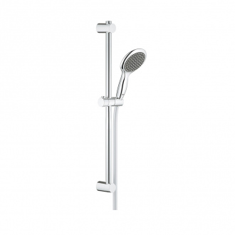 Ensemble VITALIO RAIN GROHE - douchette 2 jets + barre 60 cm + flexible 175 cm - chrome