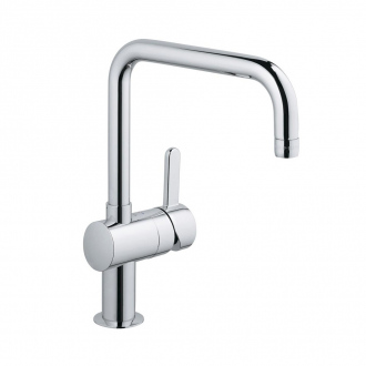 Mitigeur évier FLAIR GROHE - bec tubulaire - chrome