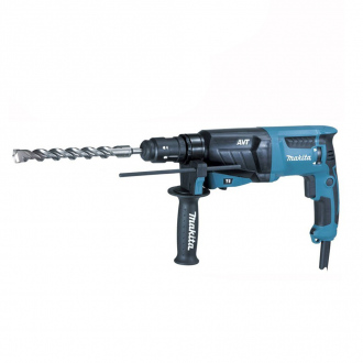 Perforateur 800W Makita - 2,4J - Ø26 mm + coffret