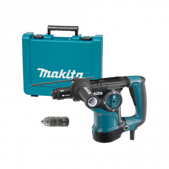 Perforateur burineur SDS+ Makita - 800W - Ø28mm - 1100 tr/min - coffret