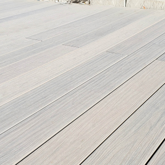 Pack complet de lames de terrasse GREEN OUTSIDE - composite Co-Extrusion - 25 m² - grège antique