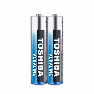 Pack de 2 piles TOSHIBA HIGH POWER - LR03 - AAA