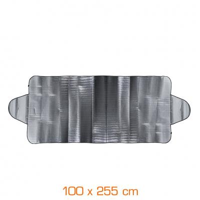 Ecran de protection 2 en 1 : anti-givre & pare-soleil - 100 x 255 cm