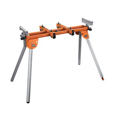 Etabli pour scie à onglet - support max 180 kg - extensible jusqu'à 2,3m