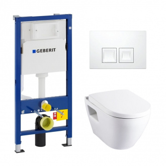 Solid Geberit UP100 Pack Bati WC (39186GEB1)