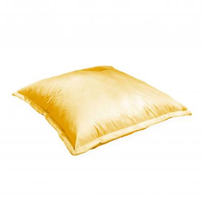 Coussin de sol carré XL – 110x110 cm - Pouf sunny (jaune)
