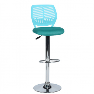 Tabouret de bar pop color - Bleu