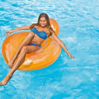 Fauteuil de piscine Glossy Orange - Intex