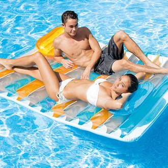 Matelas de piscine Double Vis-à-Vis - Intex