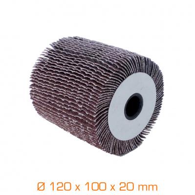 Brosse à lamelles - Ø120 x 100 x 20 mm