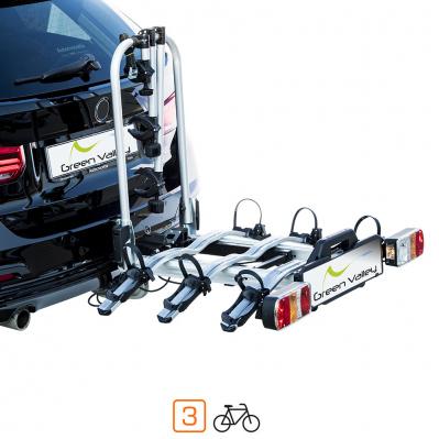 Porte-vélos plateforme SMART BIKE - 60 kg max. - 3 vélos
