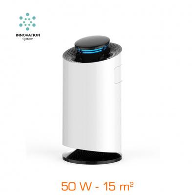Purificateur d'air anti moustique - 50 W - 2 filtres - jusqu'à 15 m² - blanc