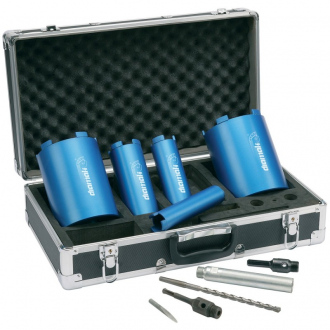 Coffret de Couronnes de Forage à sec diamant MAKITA P-74712