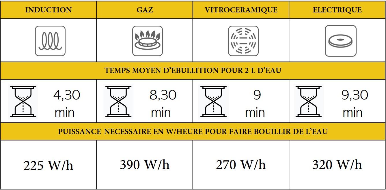 Comparatif Table De Cuisson Induction Et Vitroceramique choisir sa plaque de cuisson - brico privé